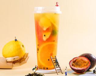 满杯水果冰