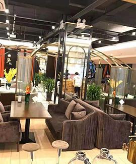 荣县栖木咖啡—咖啡加盟店设计装修